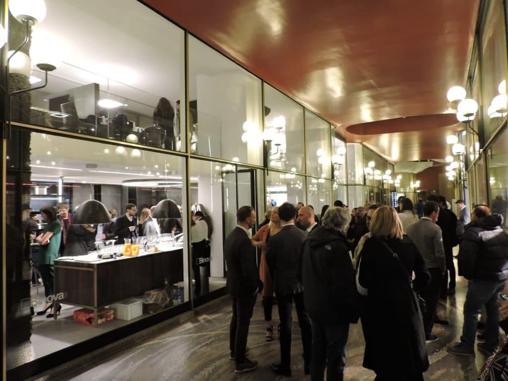 binova milano inaugurazione showroom via durini - Inaugurazione -
