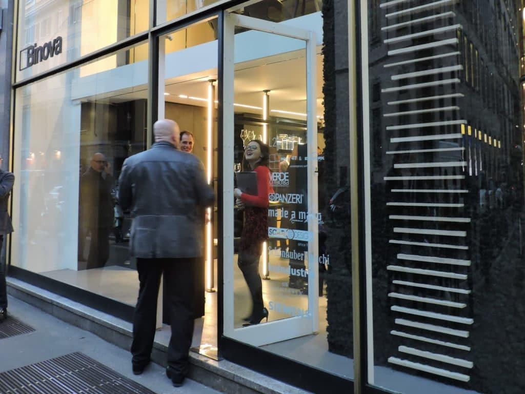 showroom durini design by binova milano - Inaugurazione -
