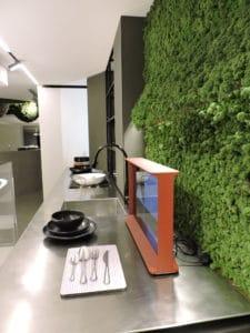 verde profilo durini design by binova milano - Inaugurazione -